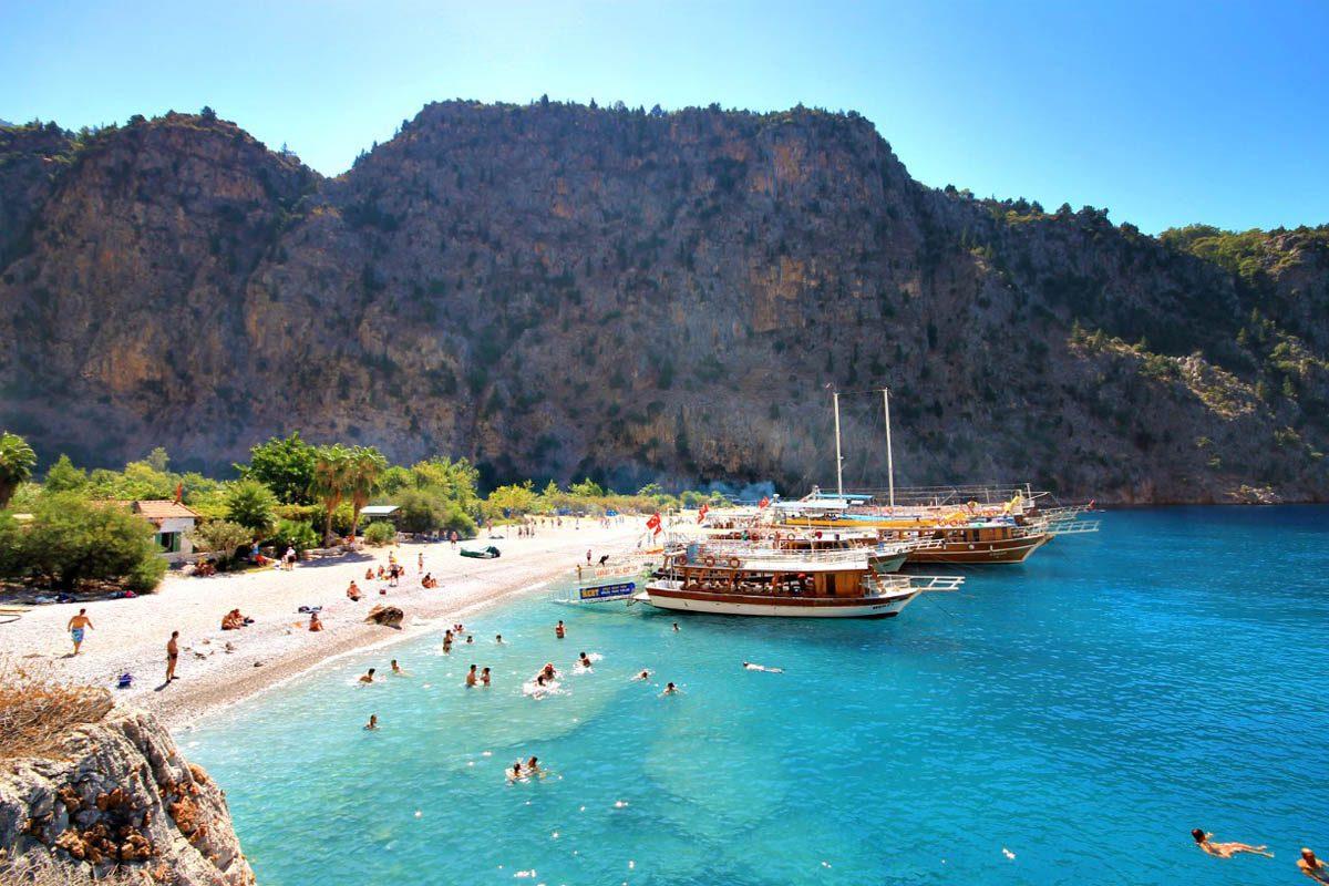 V katerem delu Turčije so najlepše plaže?