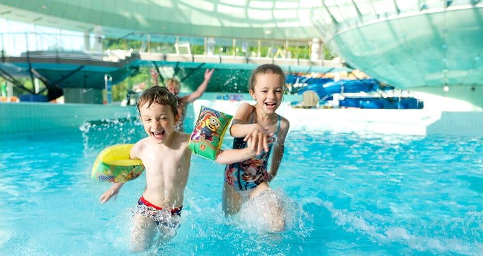 Najboljši bazeni so prilagojeni posebej tudi za otroke