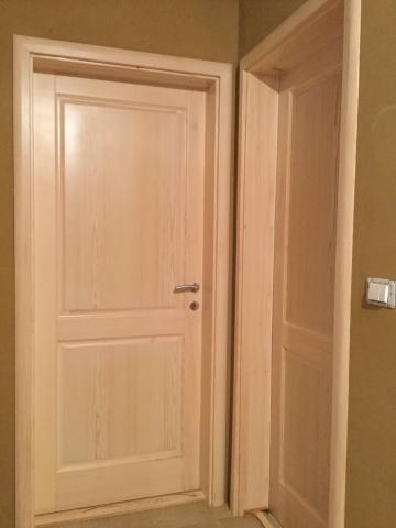 Notranja vrata je najbolje kombinirati z masivnim podbojem