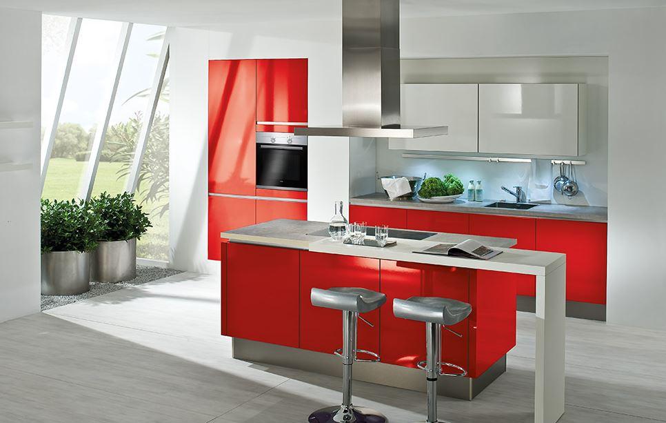 Moderne kuhinje so po dizajnu prav drzne
