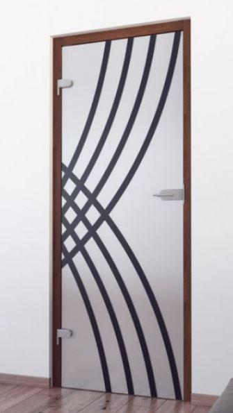 Steklena vrata imajo šestkrat bolj odporno steklo