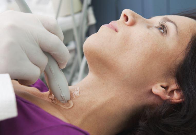 ultrazvok ščitnice